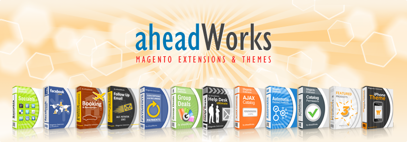 aheadWorks store