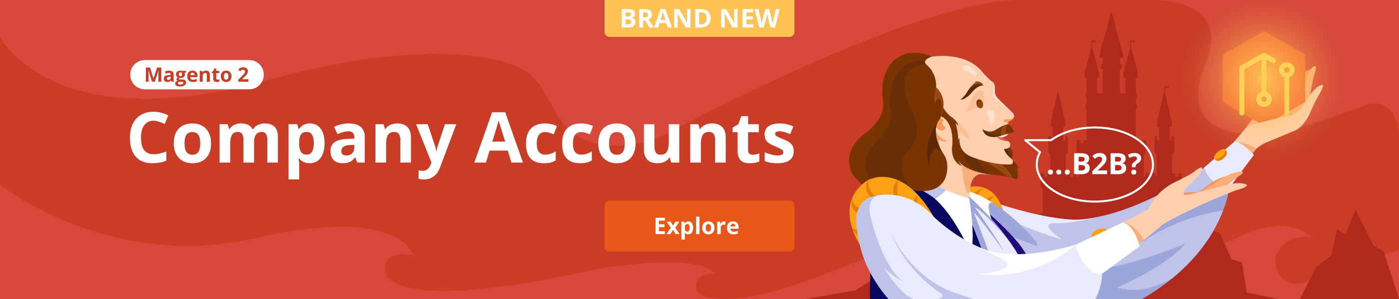 Magento 2 Company Accounts release