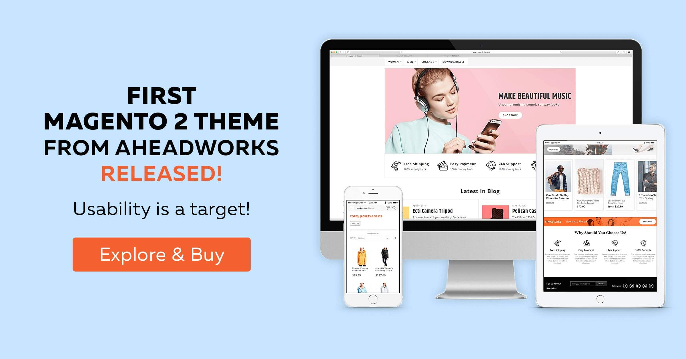 Magento Themes and Magento Templates by aheadWorks