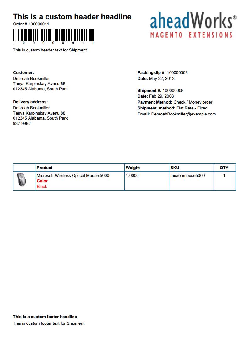 Better PDF Invoice